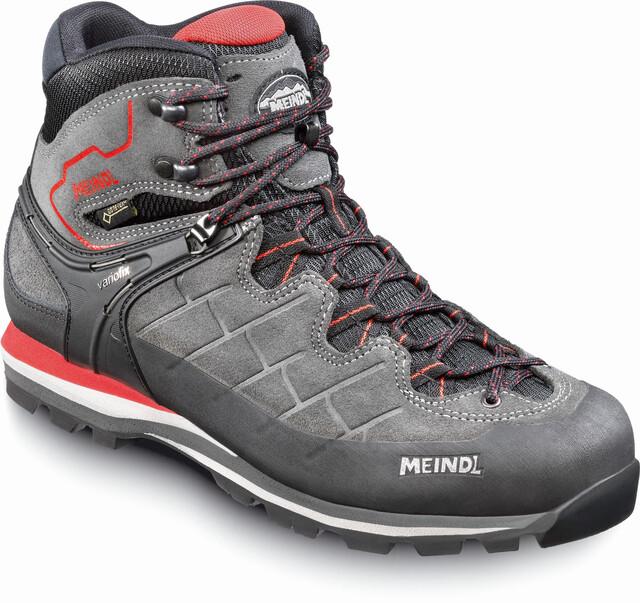 Meindl M's Litepeak GTX Shoes Graphite/Dark Röd